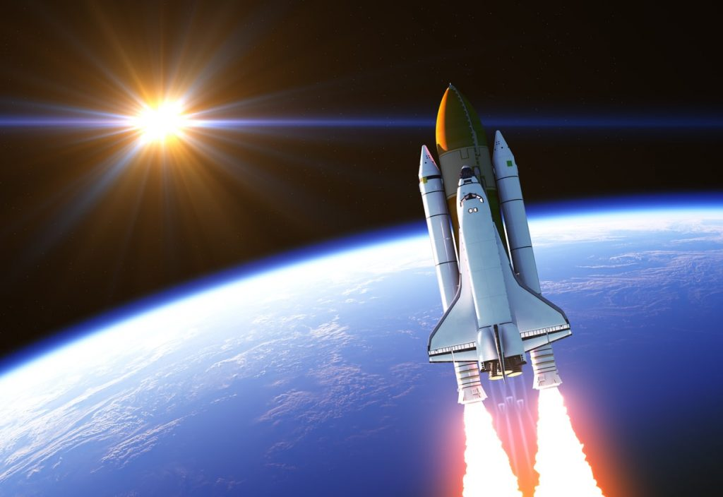 Aero Hose Land Space Shuttle