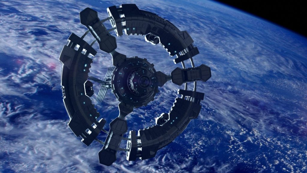 Aero Hose Space Station